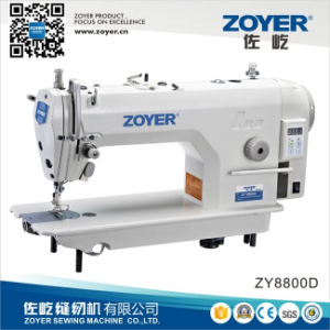 Zoyer Computer Lockstitch Industrial Sewing Machine with Direct Drive (ZY8800D) pictures & photos
