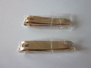 Deluxe Nail Clipper with Gold Plating for Promotion Gifts pictures & photos