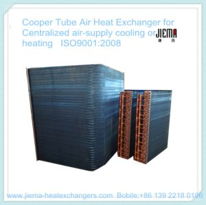Copper Tube Air Heat Exchanger for Centralized Air Supplying Cooling or Heating pictures & photos