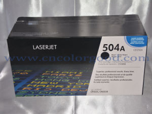 Hot Sell Laserjet Toner Cartridge for Ce250A-Ce253A 504A pictures & photos