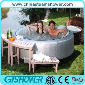 Inflatable 4 Person Outdoor Jakuzi Pool (pH050010) pictures & photos