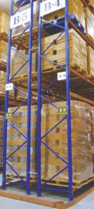 Warehouse Storage Metal Pallet Rack with Narrow Walkways pictures & photos