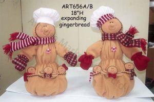 Expanding Gingerbread Parents with Babies, 2 Asst-Christmas Decoration pictures & photos