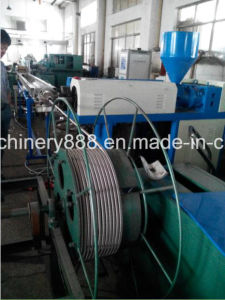 PVC Coated Stainless Steel Corrugated Sprinkler Hose Machine