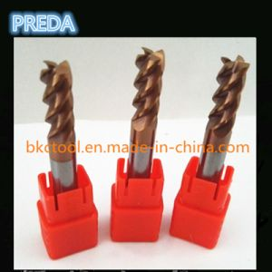 HRC55 4 Flutes End Mills with Inch Size CNC pictures & photos