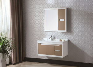 Deluxe Imported Solid Wood Bathroom Vanity pictures & photos