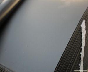 Extruded Grey Rigid PVC Plastic Sheet pictures & photos