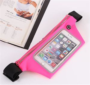 Sport Touch Screen Cell Phone Waist Belt Pack/Bag for Running pictures & photos
