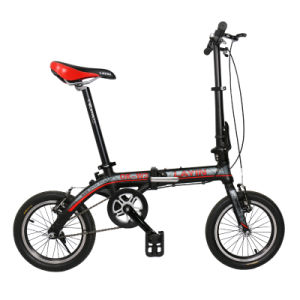 8.5kg Foldup Bike 14 Inch Alloy Frame V Brake pictures & photos