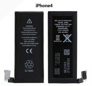 Original Battery for iPhone4/3.7V Lithium Polymer Mobile Phone Batteries for iPhone 4 pictures & photos