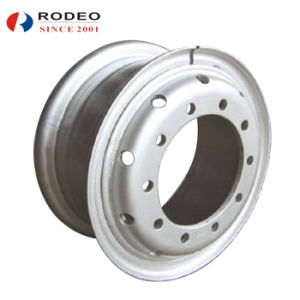 Tube Steel Wheel 8.5-20 for Truck pictures & photos