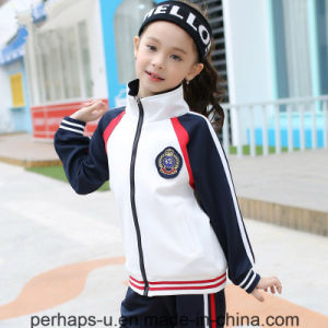 High Quality Custom Boy and Girl Uniform Kids Sport Suits pictures & photos