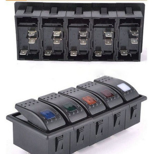 2-8way Marine 12V LED Rocker Switches for Switch Panels (MY) pictures & photos