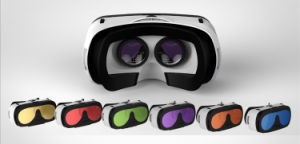 3D Virtual Reality Headset with Optical Glass