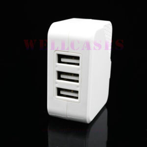Wholesale High-Quality Mobile Phone 3 USB Travel Wall Adapter/Charger