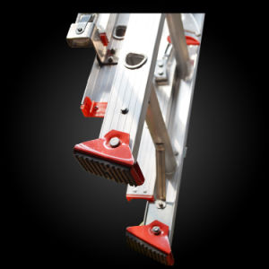 Aluminum Ladder Rope Control Fire Escape Extension Ladder pictures & photos