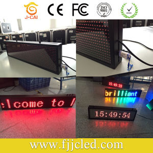P10 Red Color Scrolling LED Message Sign pictures & photos