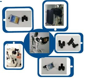 Slit Lamps Photo Adapter for iPhone 4, 4s, 5, 5s, 6, 6 Plus and iPad Mini pictures & photos