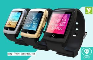 2015 GPS Fashion Smart Watch Mobile Phone Made in China