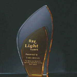 Hot Sale Europe Crystal Awards Glass Trophy pictures & photos