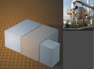 Honeycomb Ceramic for Rto Heat Exchanger Treatment pictures & photos