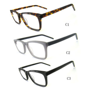Best Selling Acetate Optical Frame with More Color Available pictures & photos