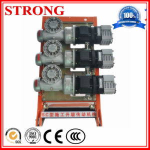 Construction Electric Hoist Driven 2&3 Phase Motor pictures & photos