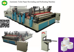 Non-Stop Fully Automatic High Speed Toilet Paper Production Line pictures & photos