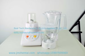 Manual Electric Home Used Food Blender and Grinder 3 Speed Switch Blender pictures & photos