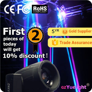 Yuelight 330W Osram 2in1 Beam Wash Zoom 15r Light Moving Head with CE RoHS pictures & photos