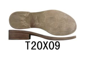 Lady′s Casual Shoe Outsole TPR Sole Leather Shoe Sole (T20X09) pictures & photos