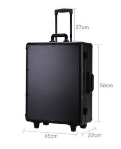 2016 Professional Aluminum Trolley Makeup Case with Lights Mirror Leg pictures & photos