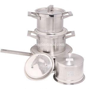 7PCS Stainless Steel Cookware Set, Pot Set, Soup Pots pictures & photos