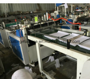 Non Woven Shoe Cabinet Roll to Sheets Cutting Machine with Embossing pictures & photos