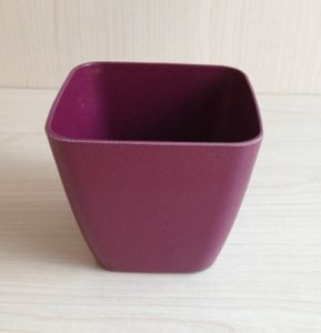 Eco Bamboo Fiber Flower Pot (BC-F1013) pictures & photos