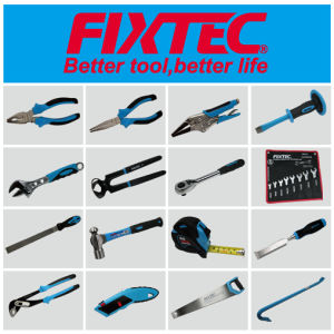 Fixtec 18mm Aluminium-Alloy Snap-off Blade Knife with TPR Grip pictures & photos