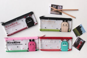 Soft Plastic Stationery Bags with Zippers pictures & photos