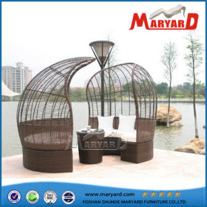 Outdoor Strips Sofa Set Rattan Patio Furniture pictures & photos