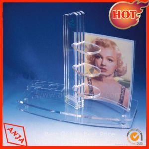 Acrylic Counter Cosmetic Display Stand pictures & photos