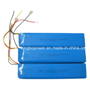 7.4V Portable Instrument Rechargeable Lithium Polymer Battery