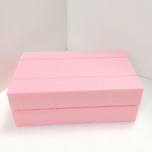 Fuda Extruded Polystyrene (XPS) Foam Board B2 Grade 500kpa Pink 30mm Thick Slotted