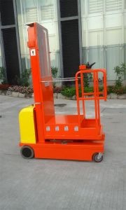 4.5m Full Electric Aerial Order Picker pictures & photos