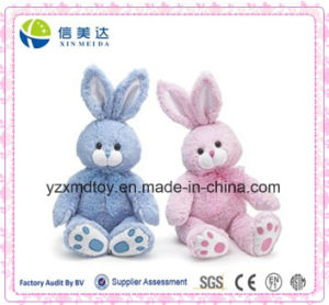 Popular Easter Gift 2 Colors Plush Easter Bunnies Toy pictures & photos