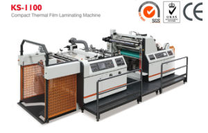 Compact Laminating Machine for Thermal Film with Hot Knife (KS-1100) pictures & photos