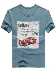 Mens Fashion Printed Cotton T-Shirt for Summer pictures & photos