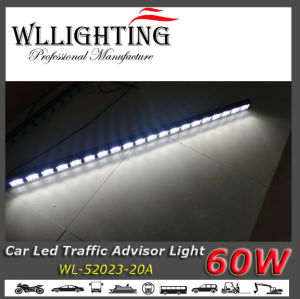 LED Traffic Directional Warning Light Bar White pictures & photos