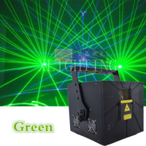 Green 8000MW Animation Laser Light Show for Disco pictures & photos