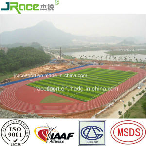 Spray Coating Athletic Tartan Track for Running Material Factory Supplier pictures & photos