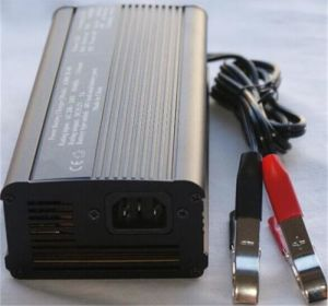 29.4V 6A LiFePO4 Car Battery Charger pictures & photos