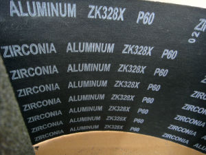 Aluminum /Zirconium Oxide Abrasive Cloth Zk328X 60# pictures & photos